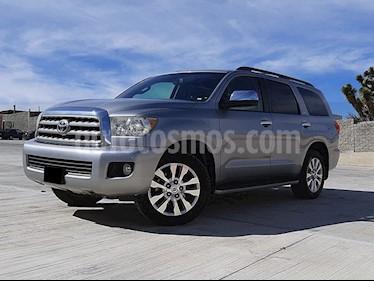 Toyota Sequoia Platinum usado (2016) color Plata precio $555,000