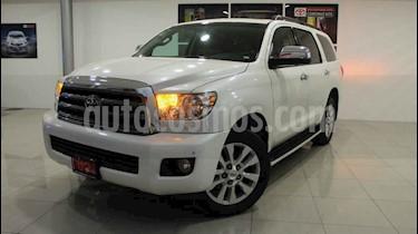 Toyota Sequoia 5p Platinum V8/5.7 Aut usado (2015) color Blanco precio $390,000