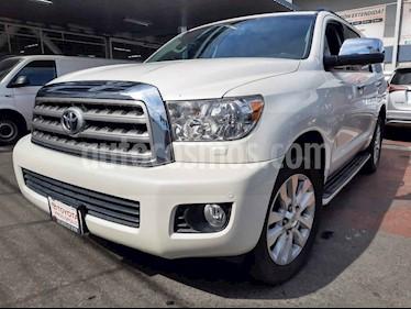 Toyota Sequoia 5p Platinum V8/5.7 Aut usado (2016) color Blanco precio $555,000