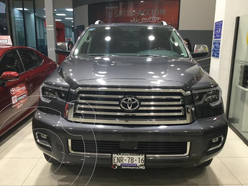 Toyota Sequoia Platinum usado (2020) color Gris Oscuro precio $858,000