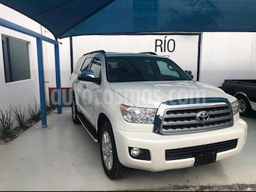 Toyota Sequoia Platinum usado (2016) color Blanco precio $580,000