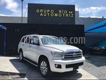 Toyota Sequoia Platinum usado (2016) color Blanco precio $568,000