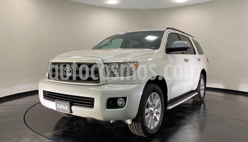 Toyota Sequoia Platinum usado (2016) color Blanco precio $554,999
