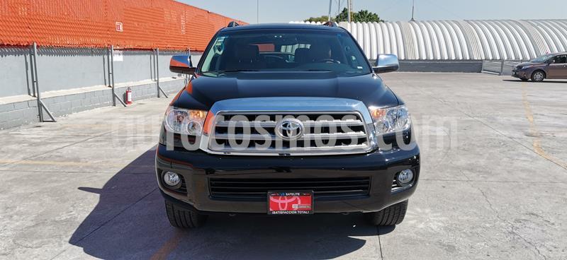 Toyota Sequoia Platinum usado (2013) color Negro precio $370,000