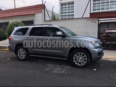 Foto venta Auto usado Toyota Sequoia Platinum (2013) color Plata precio $450,000