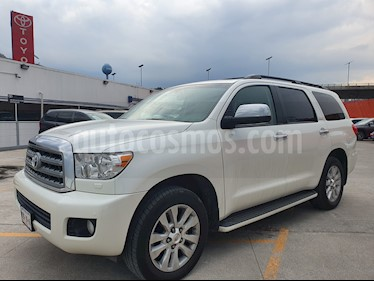 Foto venta Auto usado Toyota Sequoia Platinum (2017) color Blanco precio $689,000