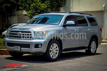 Foto venta Auto usado Toyota Sequoia Platinum (2010) color Plata Metalico precio $349,000