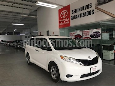Foto venta Auto usado Toyota Sienna 5p CE V6/3.5 Aut (2015) color Blanco precio $290,000