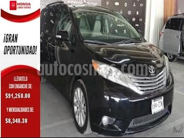 Foto venta Auto usado Toyota Sienna 5p XLE V6/3.5 Aut Q/C Piel (2014) color Negro precio $319,000