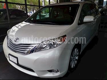 Foto venta Auto usado Toyota Sienna Limited 3.3L (2013) color Blanco precio $355,000