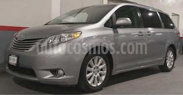 Toyota Sienna 5p Limited V6/3.5 Aut usado (2011) color Gris precio $265,000