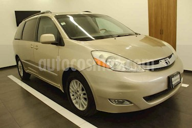 Toyota Sienna 5p XLE aut piel Limited q/c DVD usado (2008) color Dorado precio $145,000