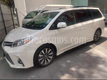 Toyota Sienna 5P LIMITED TA PIEL QC DVD XENON RA-18 usado (2020) color Blanco precio $775,000