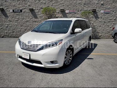 Toyota Sienna 5P XLE LIMITED TA PIEL QC DVD XENON RA-18 usado (2015) color Blanco precio $385,000