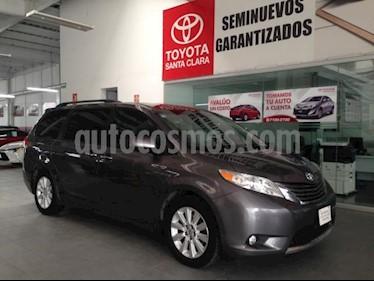 Toyota Sienna 5P XLE TA BA BL PIEL QC CONSOLA EN TOLDO RA-18 usado (2012) color Gris precio $230,000