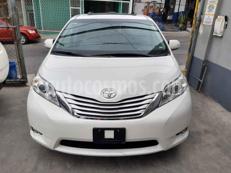 Toyota Sienna Limited 3.5L usado (2014) color Blanco precio $315,000