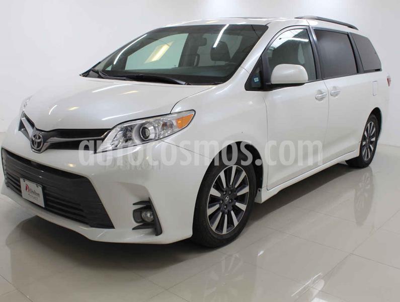 Toyota Sienna XLE 3.5L Piel usado (2018) color Blanco precio $439,000