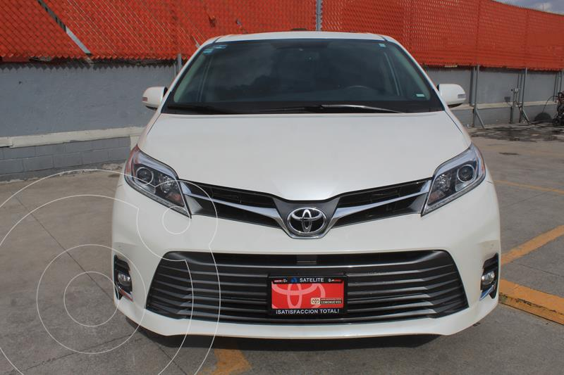Toyota Sienna Limited usado (2020) color Blanco Perla precio $750,000