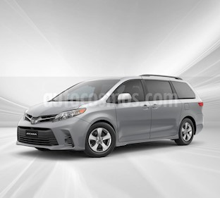 Toyota Sienna XLE 3.5L Piel nuevo color Blanco precio $723,300