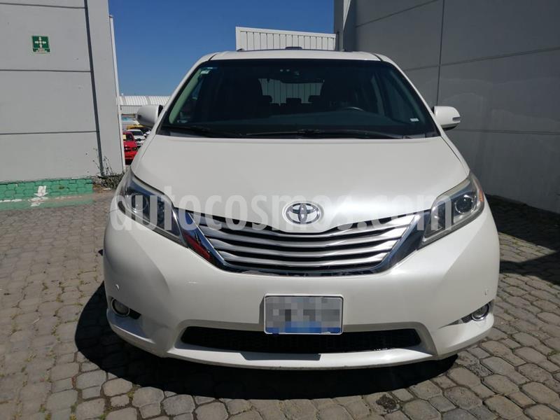Toyota Sienna Limited 3.5L usado (2015) color Blanco precio $390,000