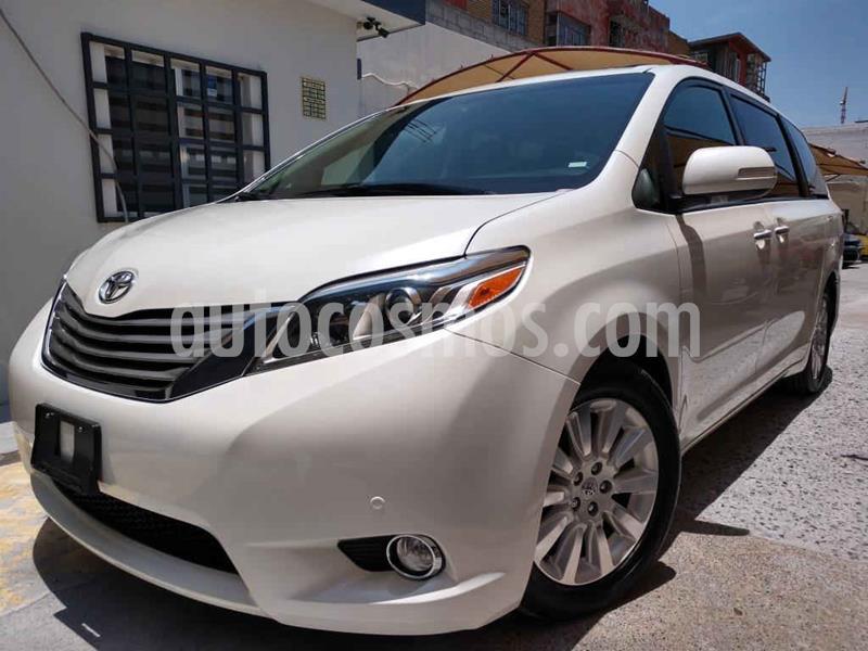 Toyota Sienna Limited 3.5L usado (2016) color Blanco precio $429,000