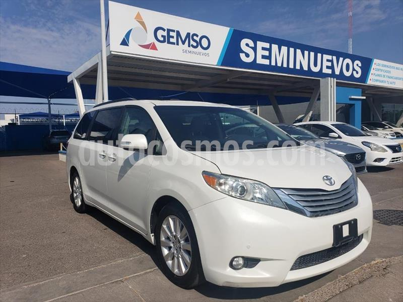 Toyota Sienna LIMITED usado (2014) color Blanco precio $298,000