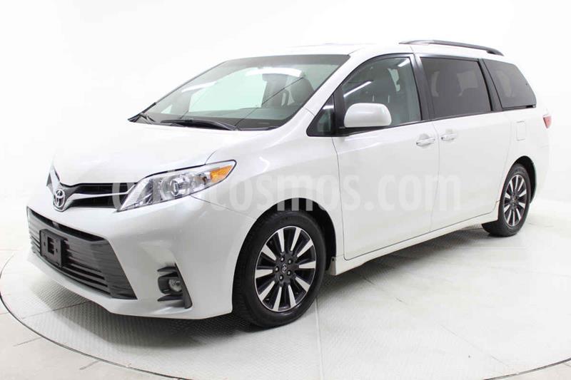 Toyota Sienna XLE 3.5L usado (2018) color Blanco precio $439,000