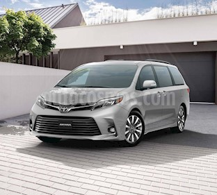Toyota Sienna XLE 3.5L Piel nuevo color Blanco precio $708,400
