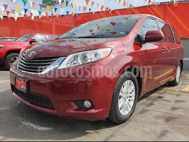 Foto venta Auto usado Toyota Sienna XLE 3.5L Piel (2014) color Rojo precio $359,000