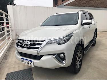 Toyota SW4 SRX 7 Pas Aut usado (2017) color Blanco Perla precio $2.980.000