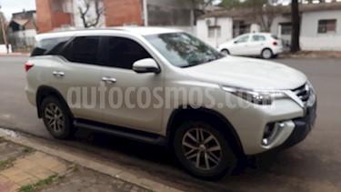 Toyota SW4 SRX 7 Pas Aut usado (2016) color Blanco Perla precio $2.950.000