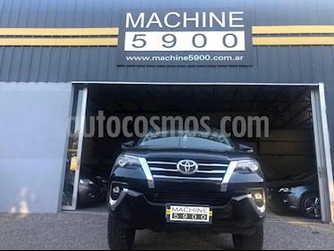 Toyota SW4 SRX 7 Pas Aut usado (2018) color Negro precio $3.700.000