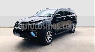 Toyota SW4 SRX 7 Pas Aut usado (2016) color Negro precio $2.600.000