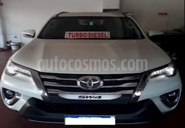 Toyota SW4 SRX 7 Pas Aut usado (2018) color Blanco precio $2.800.000