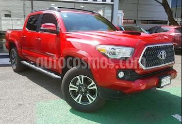 Foto Toyota Tacoma 4p TRD Sport Ed. Esp. V6/3.5 Aut 4x4 usado (2019) color Rojo precio $670,000