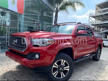 Toyota Tacoma Edicion Especial 4x4  usado (2019) color Rojo precio $690,000