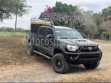 Toyota Tacoma TRD Sport usado (2014) color Negro precio $350,000
