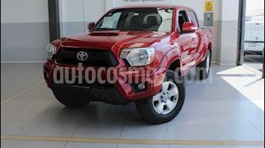 Toyota Tacoma 4p TRD Sport V6/4.0 Aut usado (2015) color Rojo precio $325,000