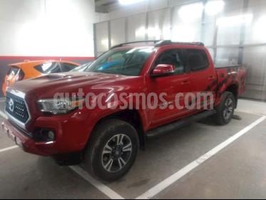 Toyota Tacoma 4P EDICION ESPECIAL V6 3.5L TA A/AC AUT. PIEL QC  usado (2019) color Rojo precio $685,000