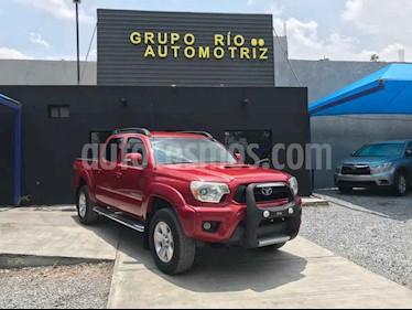 Toyota Tacoma TRD Sport  usado (2014) color Rojo precio $328,000