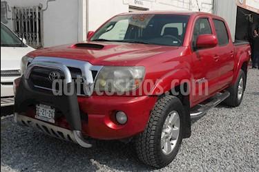Toyota Tacoma TRD Sport  usado (2010) color Rojo precio $260,000