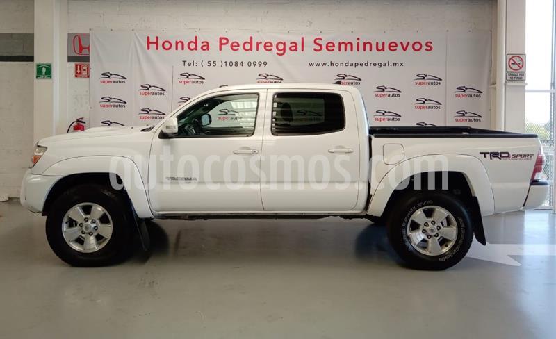 Toyota Tacoma TRD Sport  usado (2015) color Blanco precio $379,000