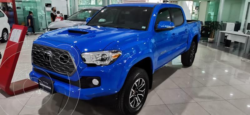 Foto Toyota Tacoma TRD Sport usado (2021) color Azul precio $670,000