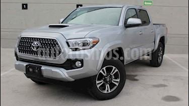 Toyota Tacoma 4p TRD Sport V6/3.5 Aut usado (2019) color Plata precio $550,000