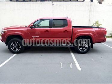 Toyota Tacoma TRD Sport usado (2017) color Rojo precio $479,000