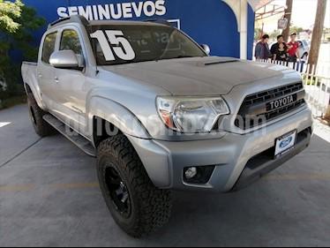 Toyota Tacoma 4P TRD SPORT V6/4.0 AUT usado (2015) color Plata precio $440,000