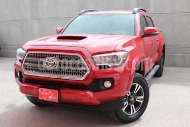 Foto venta Auto usado Toyota Tacoma TRD Sport 4x4 (2017) color Rojo precio $559,000