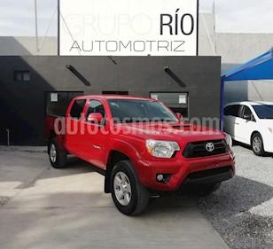 Foto venta Auto usado Toyota Tacoma TRD Sport 4x4 (2014) color Rojo precio $379,000