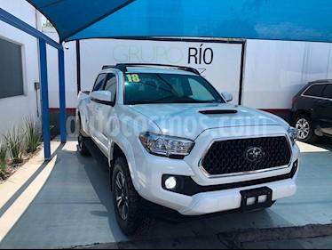 Foto venta Auto usado Toyota Tacoma TRD Sport 4x4 (2018) color Blanco precio $609,000