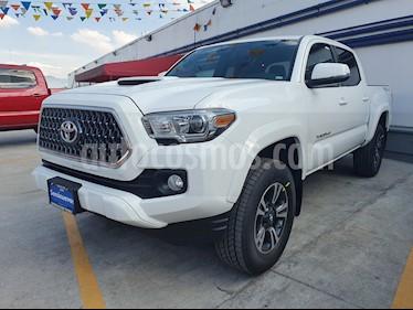 Foto venta Auto usado Toyota Tacoma TRD Sport (2019) color Blanco precio $595,000